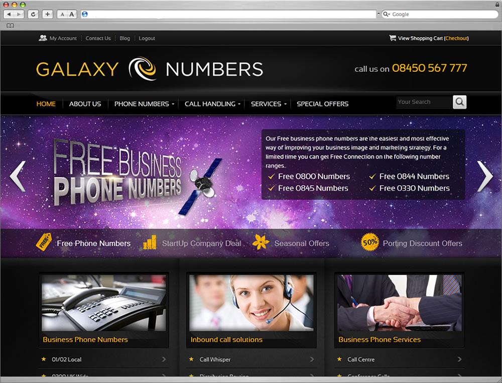 Galaxy Web